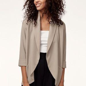 Aritzia Wilfred Tan Colour Jacket